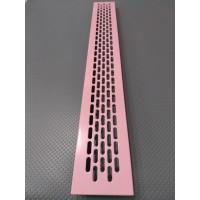 Алюмінієва решітка 480*60мм колір RAL3015